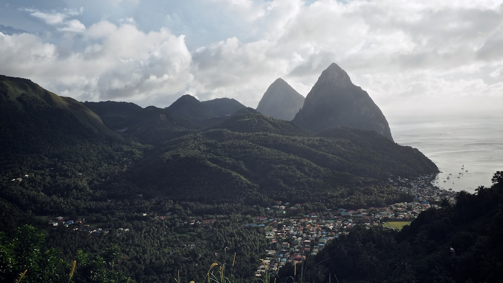 TRES HOMBRES auf St. Lucia