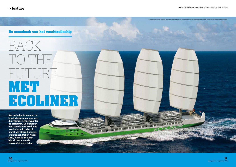 Mainport magazine, september 2014-blz1