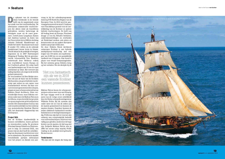 Mainport magazine, september 2014-blz2