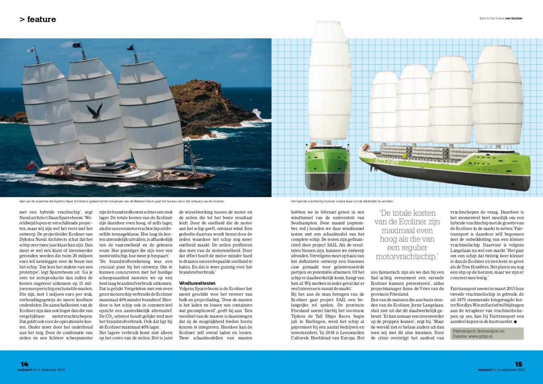 Mainport magazine, september 2014-blz3