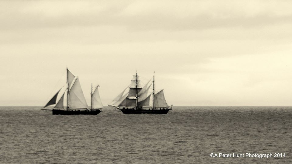 by peter hunt- Leader and Tres Hombres