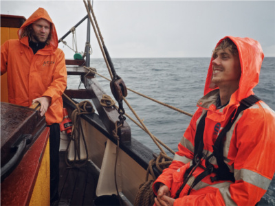 TRES HOMBRES Den Helder nach Stavanger