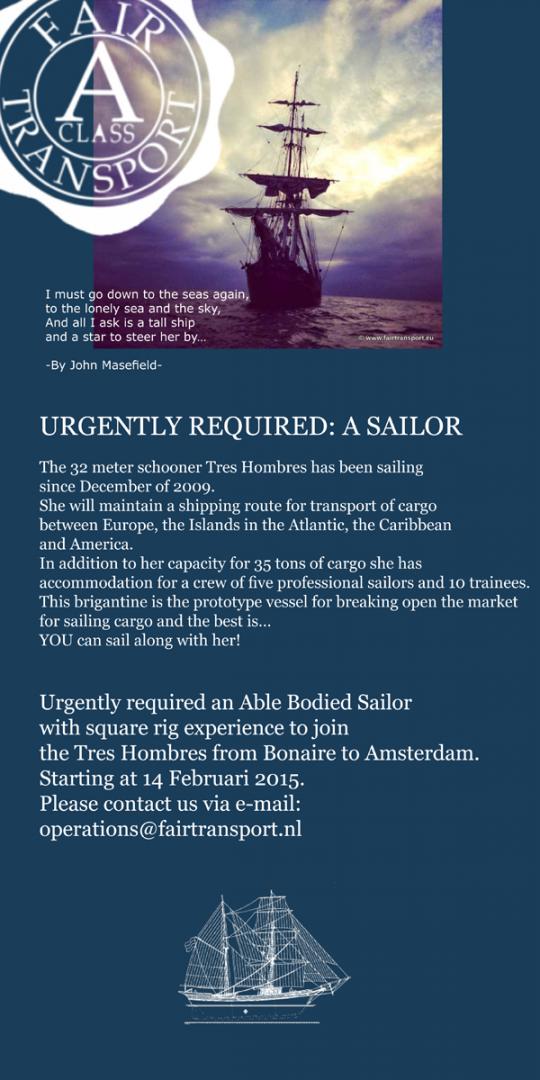 vacature sailor